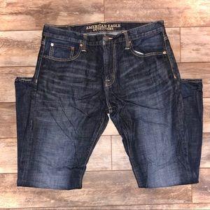 American Eagle 36x34 Bootcut Darkwash Jeans